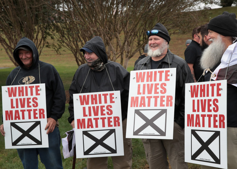 "Image: White Nationalists Hold ""White Lives Matter"" Rallies In Tennessee, Counter Protests Ensue"