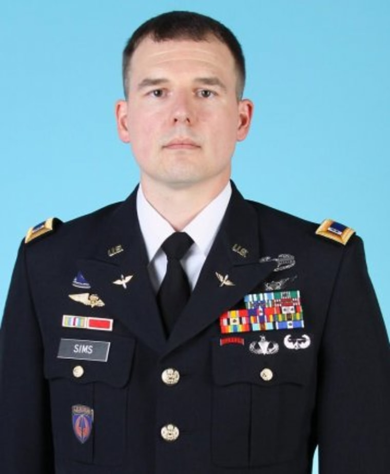 IMAGE: Chief Warrant Officer Jacob Sims