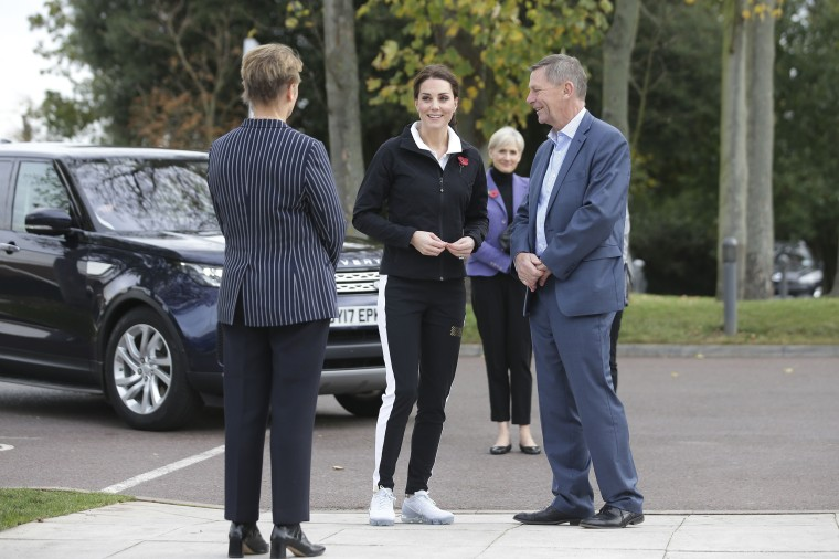 Duchess of Cambridge visits the Lawn Tennis Association