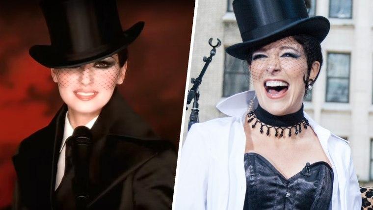 Megyn Kelly as Shania Twain for TODAY Halloween