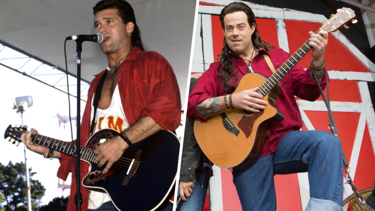 Carson Daly as Billy Ray Cyrus on TODAY Halloween