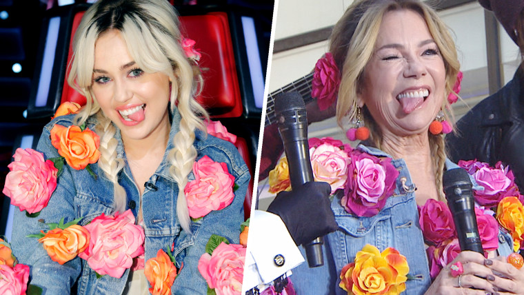 Kathie Lee Gifford dresses as Miley Cyrus on TODAY
