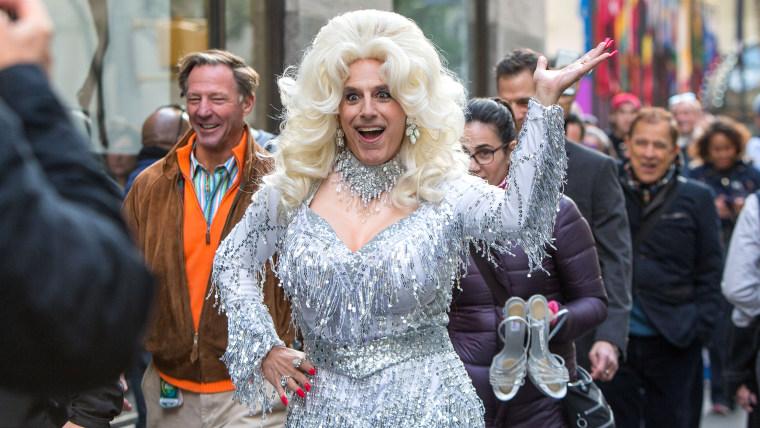 Matt Lauer as Dolly Parton