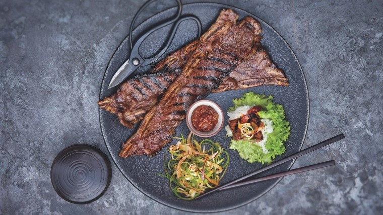 Korean BBQ Short Rib Lettuce Wraps