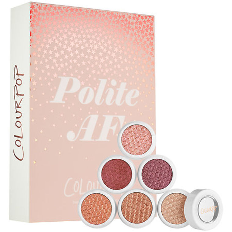 ColourPop Polite AF Super Shock Shadow Collection