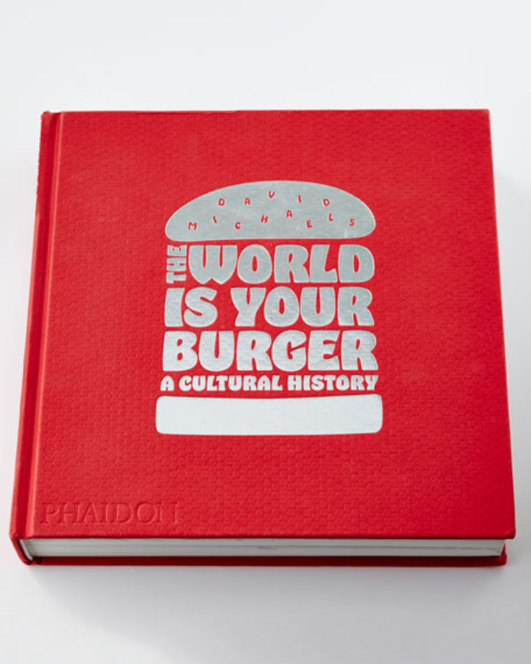 The world is your burger book cover