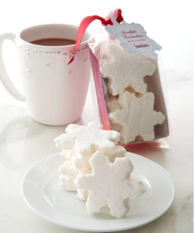 Snowflake marshmellows