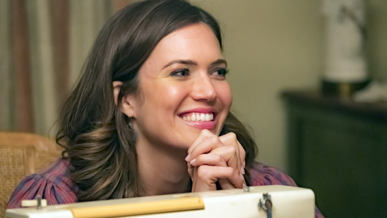 "Mandy Moore as Rebecca on ""This Is Us."""