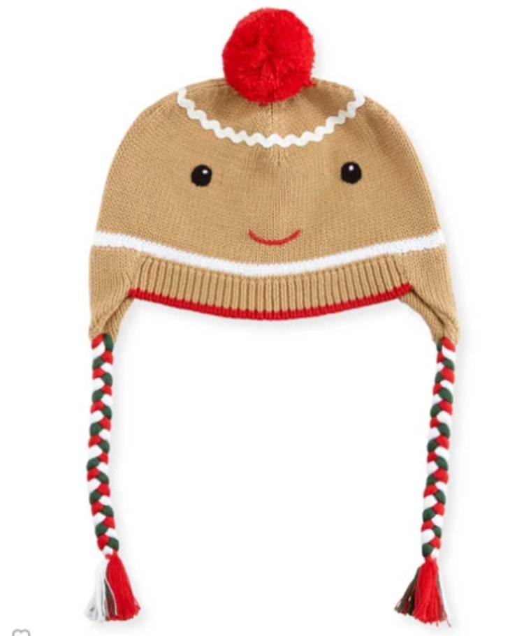 Gingerbread beanie for kids