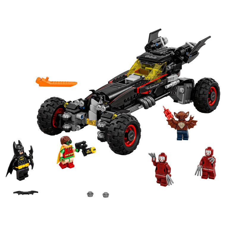 Build Batman's crime-fighting car