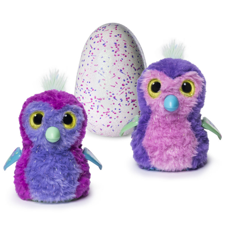 Hatching egg and interactive sparkly penguala