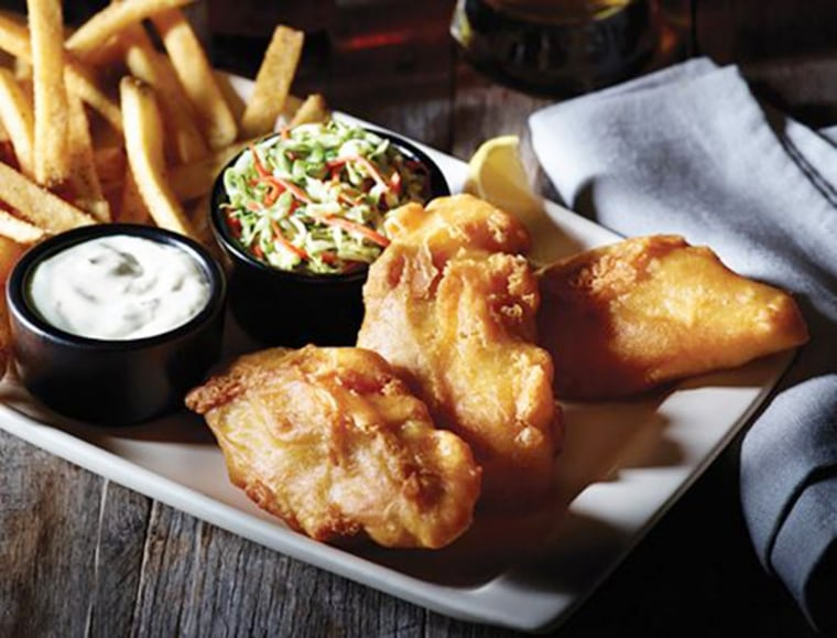 Applebee's Hand Battered Fish Chips