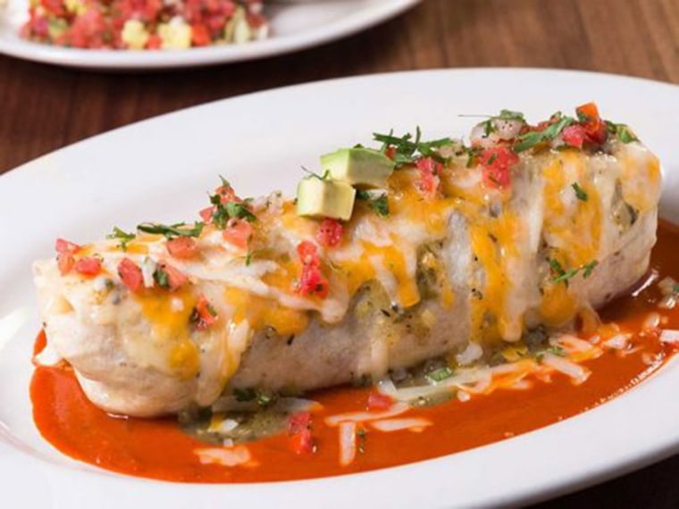Cheesecake Factory Sunrise Fiesta Burrito