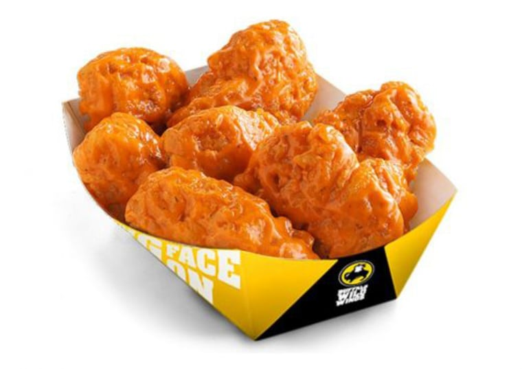 Buffalo Wild Wings Large Spicy Garlic Boneless Wings