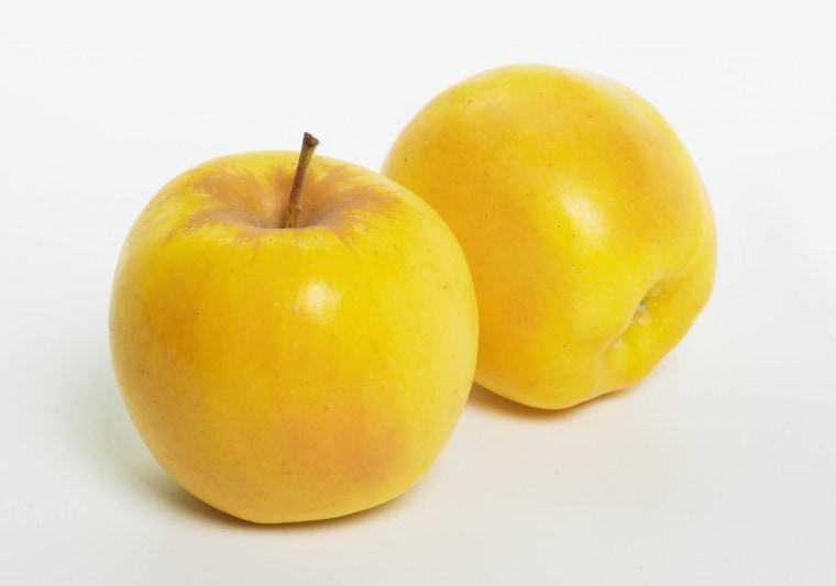 Apples produced by a company in Washington state are GMO-free and resistant to browning.