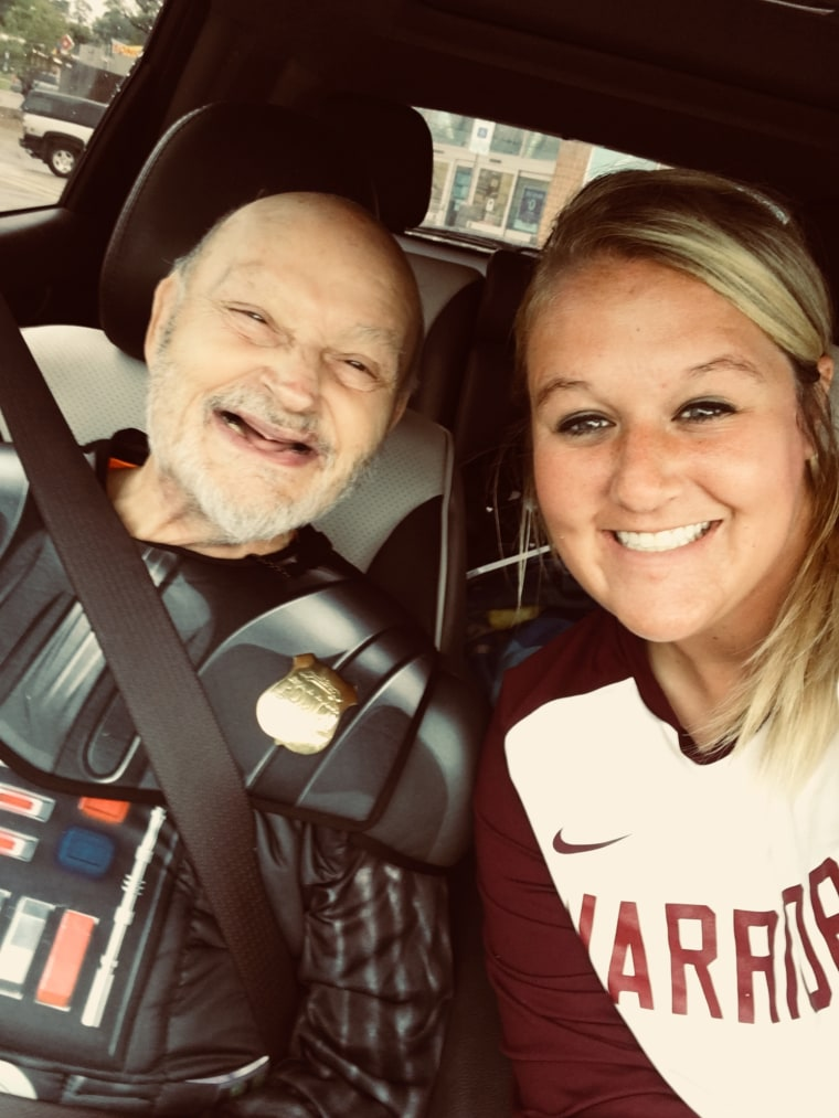 Michelle Vry enjoys spending time with Homer Williams, a 69-year-old man with an intellectual disability that lives with her family. After such a hard life she strives to make him happy.