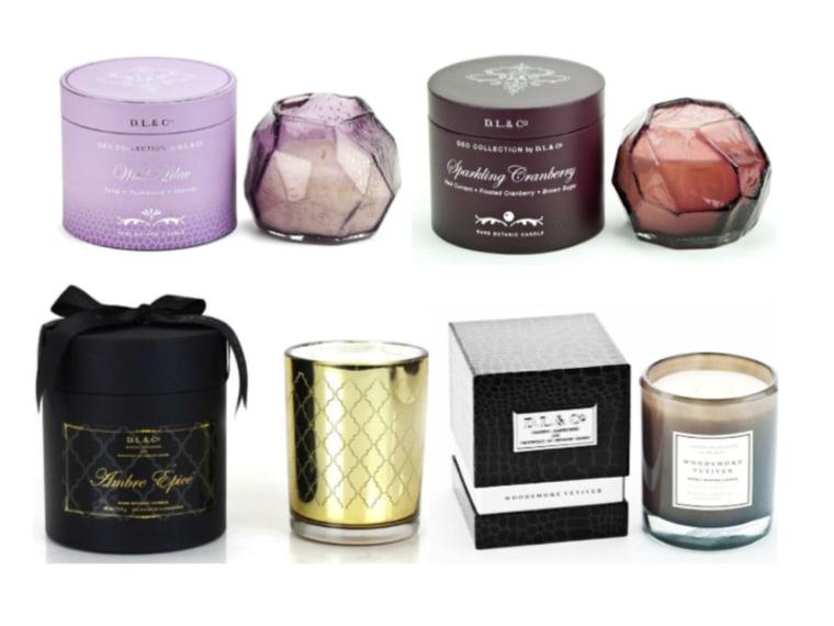 D.L. & Co Luxury Candles