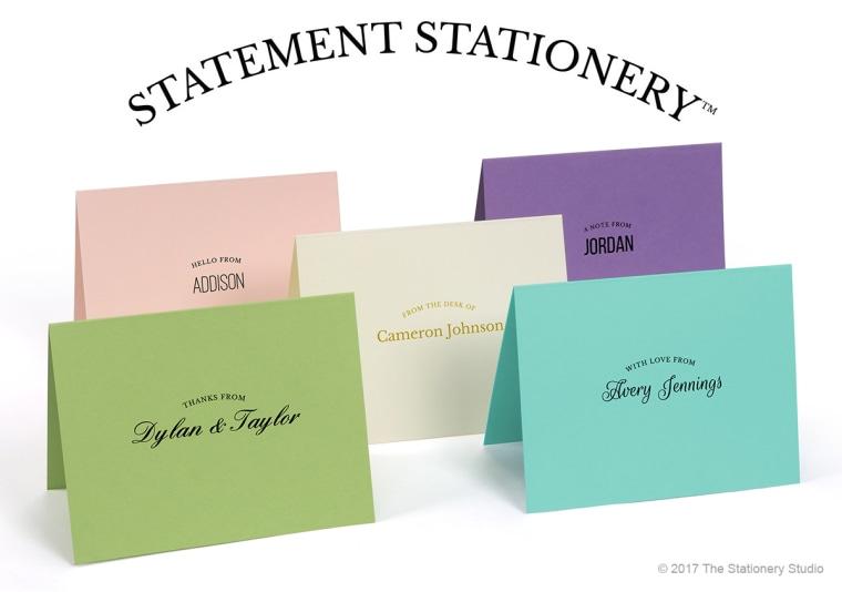 Make a Statement Stationery