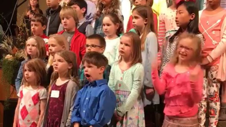 Loren Patterson, 6, makes a debut at her church, singing, dancing, and inspiring millions in what became a viral video.