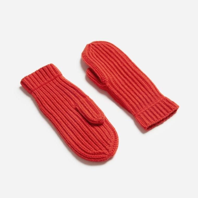 Everlane cashmere mittens