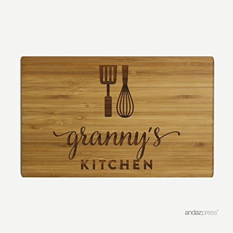Cutting board personalized