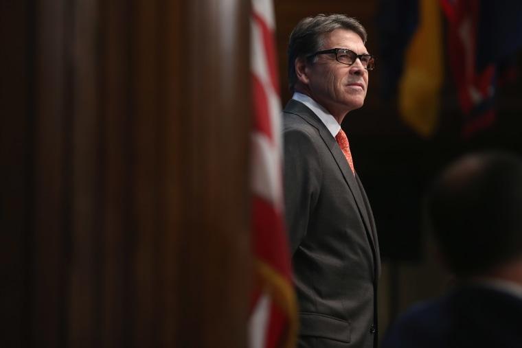 Image: Energy Secretary Rick Perry