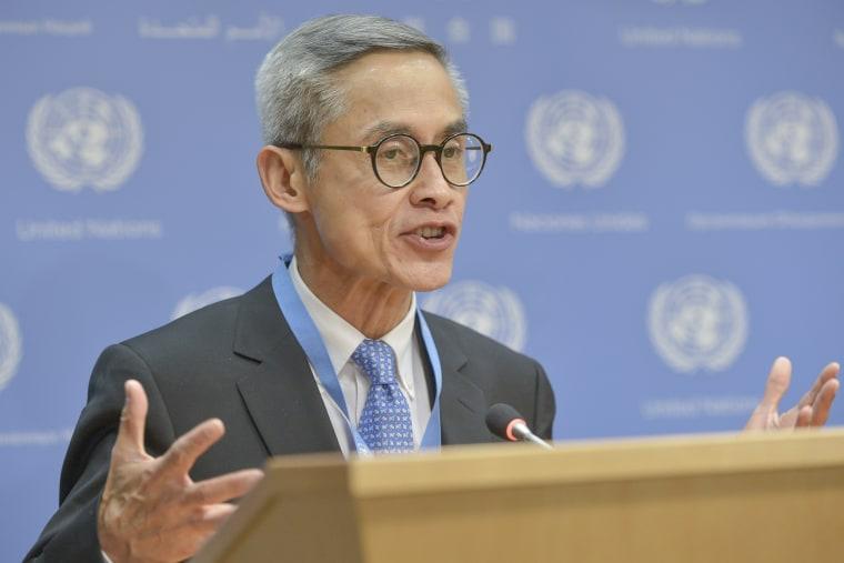 Image: Vitit Muntarbhorn, UN Expert