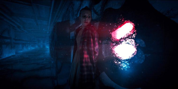 Image: Millie Bobby Brown appears in Season 2 of Netflix's Stranger Things
