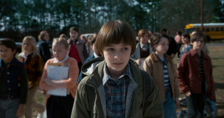 Image: Noah Schnapp appears in Season 2 of Netflix's Stranger Things
