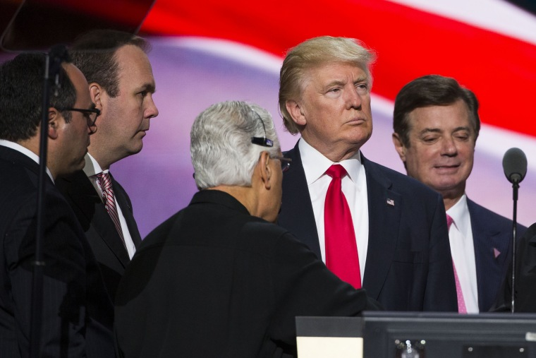 Image: Donald Trump and Paul Manafort