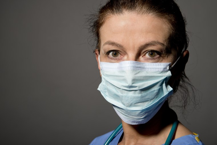 Nurse/Doctor Wearing Surgical Mask