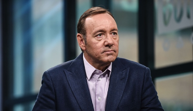 """Image: Kevin Spacey attends the Build Series to discuss his new play \""""Clarence Darrow\"""""""