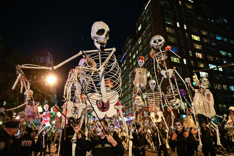 Image: 44th Annual Village Halloween Parade