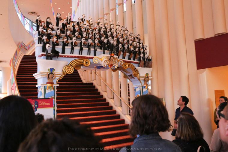 Dia de Los Muertos event at San Francisco Symphony.