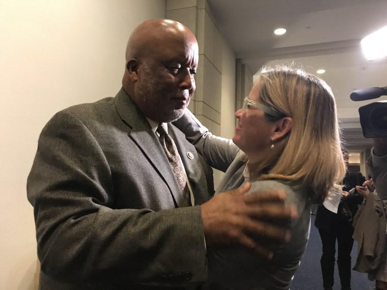 Rep. Bennie Thompson and San Juan, Puerto Rico Mayor Carmen Yul?n Cruz