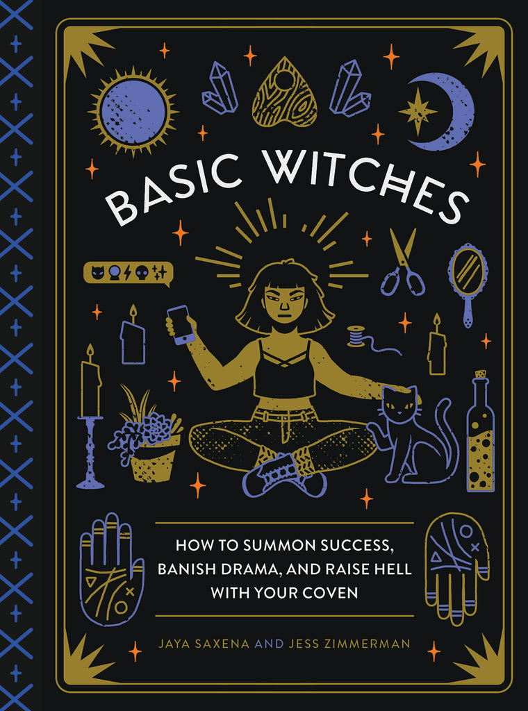 "The cover of ""Basic Witches."""
