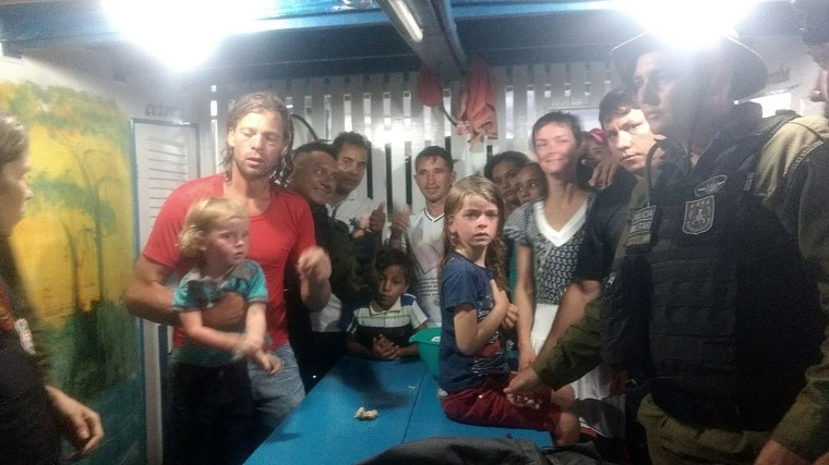 Image: Missing US family Found Safe in the Amazon
