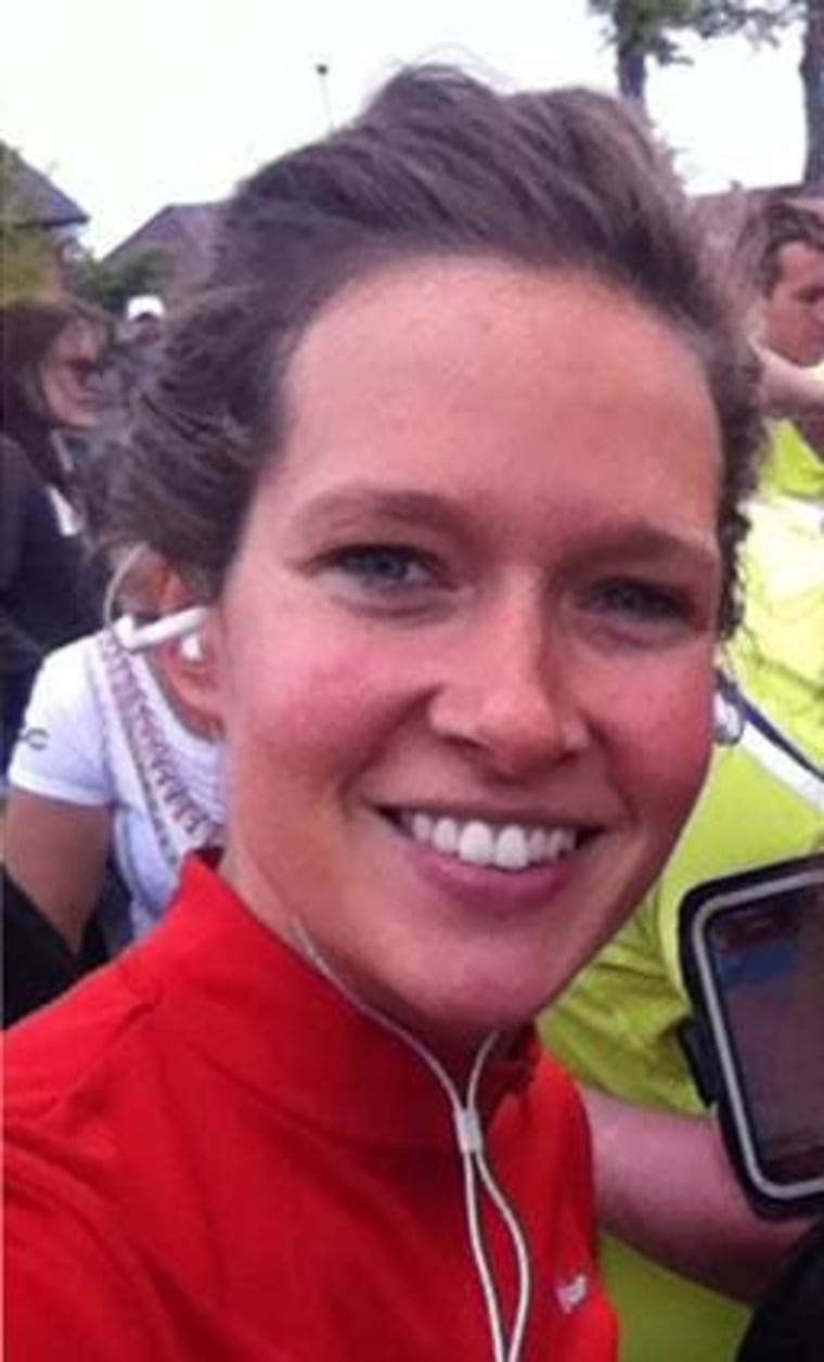 Image: Undated social media photo shows Ann-Laure Decadt of Belgium, a victim who died in Tuesday's truck attack on a New York City bike path