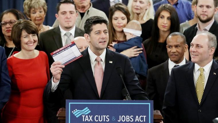 Image: House Republicans Introduce Tax Reform Legislation