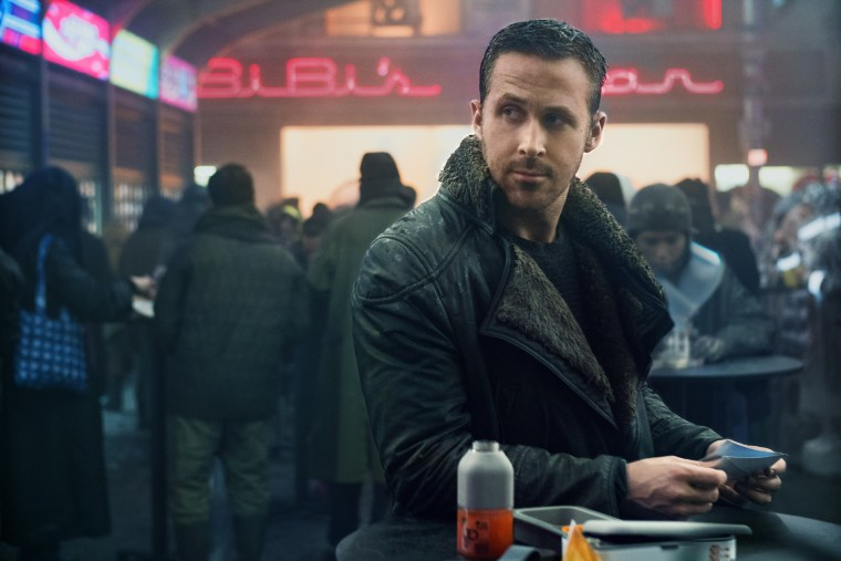 "Ryan Gosling in ""Blade Runner 2049,"" the sequel to the 1982 cult classic."