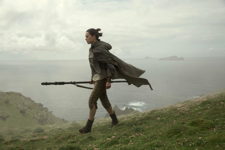 Image: Daisy Ridley as Rey in Star Wars: The Last Jedi