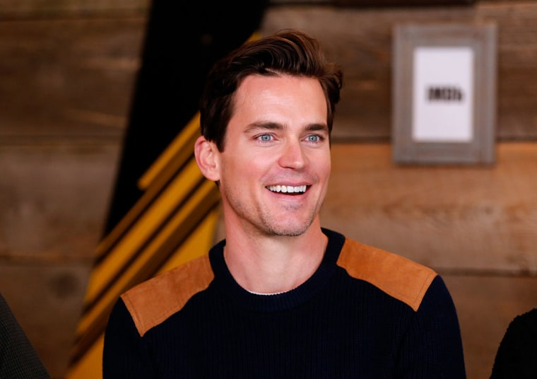 Actor Matt Bomer at the 2017 Sundance Film Festival on January 21, 2017 in Park City, Utah.