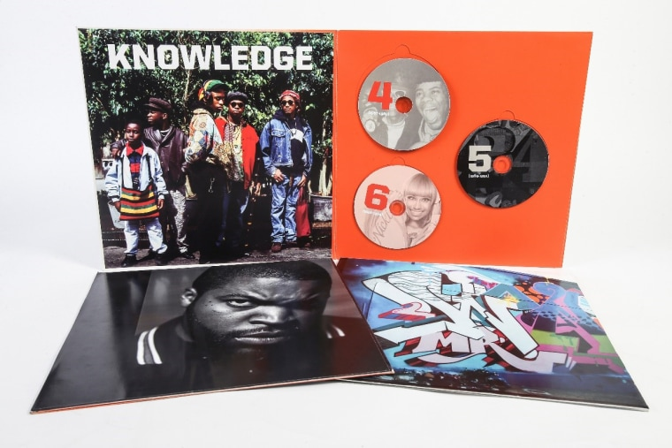 Image: Part of the Smithsonian Anthology of Hip-Hop and Rap