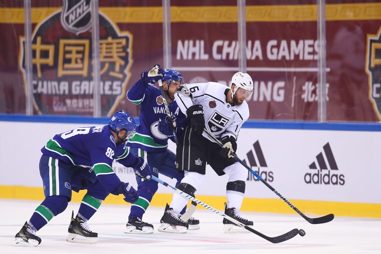 ImagE: 2017 NHL China Games - Los Angeles Kings v Vancouver Canucks