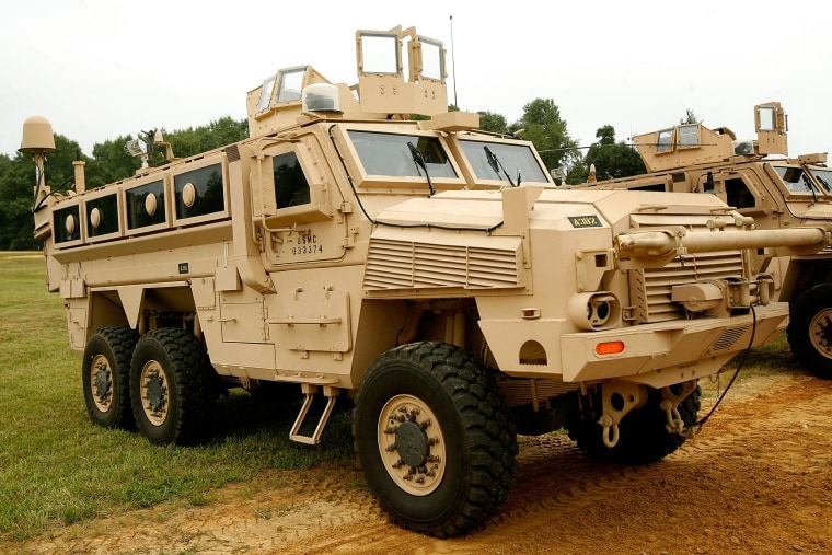 Image: Military Vehicle MRAP