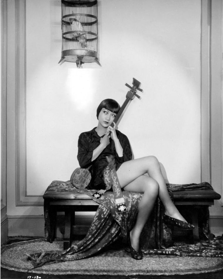 "Anna May Wong in the 1929 silent film ""Piccadilly."""
