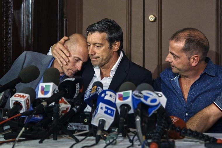Image: Juan Pablo Trevisan, Ivan Brajkovic, Guillermo Banchini