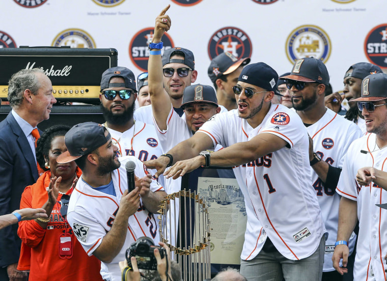 Image: Houston Astros-Championship Parade