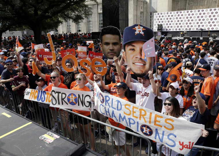 Image: World Series Champions Houston Astros parade