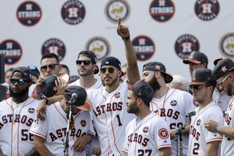 Image: Houston Astros Victory Parade